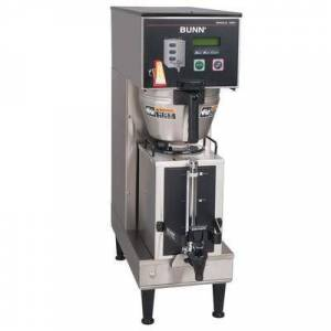 Bunn 33600.0029 BrewWISE Single Soft Heat DBC Brewer with Lower Faucet - 120V, 1900W
