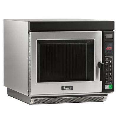 Amana Commercial Microwaves Amana RC30S2 Heavy-Duty Stainless Steel Commercial Microwave Oven with Push Button Controls - 208/240V, 3000W