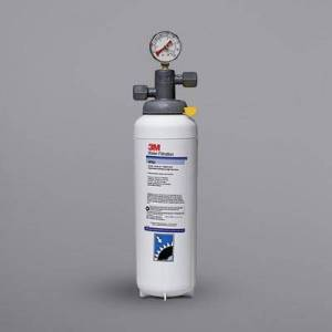 3M Water Filtration Products BEV165 High Flow Series Water Filtration System - 3 Micron Rating and 3.34 GPM