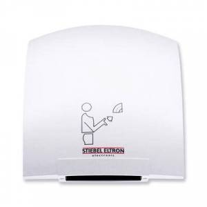 Eltron Stiebel Eltron 073009 Galaxy 1 Ultra Quiet Automatic Hand Dryer with Polycarbonate Housing (Alpine White Finish) - 120V, 1850W