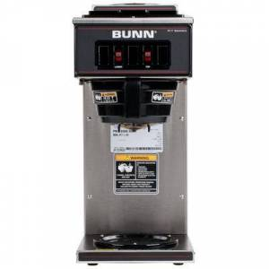 Bunn 13300.0002 VP17-2 SS Low Profile Pourover Coffee Brewer with 2 Warmers