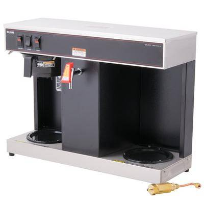 Bunn 07400.0005 VLPF Automatic Coffee Brewer with Two Lower Warmers - 120V
