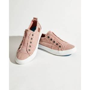 Blowfish Play Slip-On Sneakers in Pink Canvas
