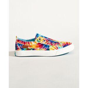 Blowfish Play Sneakers in Rainbow Tie Dye Canvas