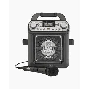 Singing Machine Groove Mini Karaoke Machine in Black