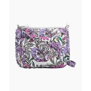 Vera Bradley Carson Mini Shoulder Bag in Lavender Meadow