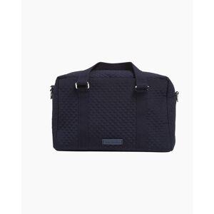 Vera Bradley Iconic 100 Handbag in Microfiber Classic Navy