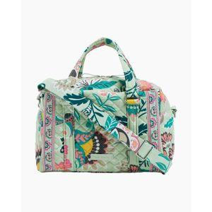 Vera Bradley Iconic 100 Handbag in Mint Flowers