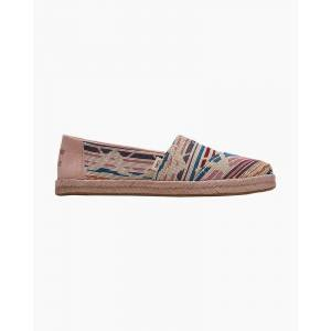 TOMS Woven Slip-On Espadrilles in Natural Multi