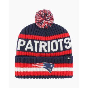 '47 New England Patriots Bering Cuff Knit Pom Beanie