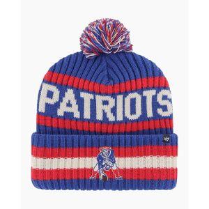 '47 New England Patriots Legacy Bering Cuff Knit Pom Beanie