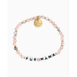 Pro-Ject Little Words Project Fur Mama Mom Life Stretch Bracelet