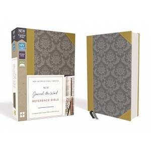 NIV Journal the Word Reference Bible (Gold/Gray Leathersoft)
