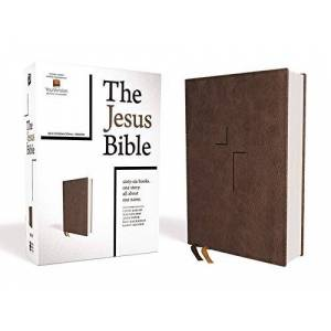 NIV The Jesus Bible (Brown Leathersoft)