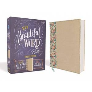 NIV Beautiful Word Bible (Updated Edition, Gold/Floral Leathersoft over Board)