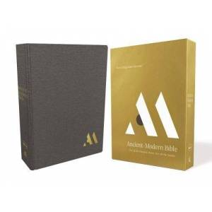NKJV Ancient-Modern Bible (5542GY, Gray Cloth Over Board)