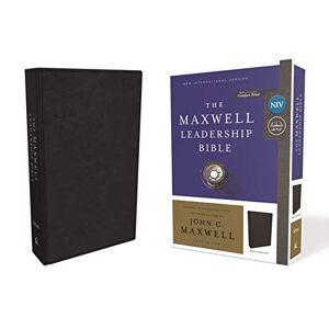 NIV The Maxwell Leadersip Bible (7183BK, Black Leathersoft)