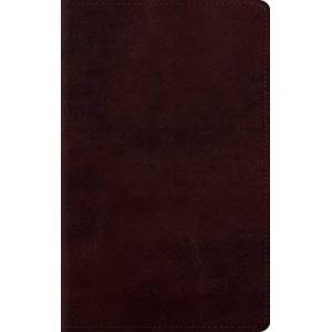 ESV Large Print Personal Size Bible (TruTone, Mahogany)