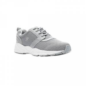 Propet Women's Stability X Sneakers by Propet in Light Grey (Size 8 1/2 M)