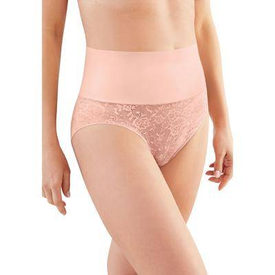 Maidenform Plus Size Women's Tame Your Tummy Brief by Maidenform in Pink Pirouette (Size 2X)