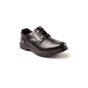 Deer Stags Men's Deer Stags Nu Times Waterproof Oxford Shoes by Deer Stags in Black (Size 15 M)