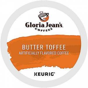 Gloria Jean's 72 Ct Gloria Jean's Butter Toffee Coffee 72-Count (3 Boxes Of 24) K-Cup Pods. Coffee
