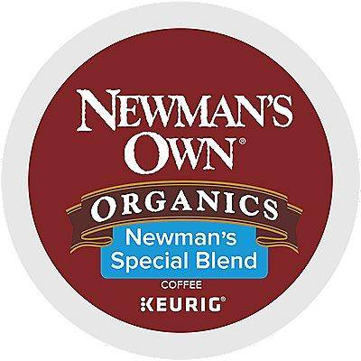 Newman's Own Organics 96 Ct Newman's Own Organics Newman's Special Blend Coffee 96-Count (4 Boxes Of 24) K-Cup Pods. Coffee