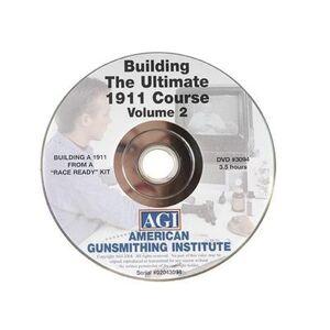 """American Gunsmithing Institute (AGI) """"American Gunsmithing Institute (AGI) Video """"""""The Ultimate 1911"""""""" Volume 2 DVD"""""""