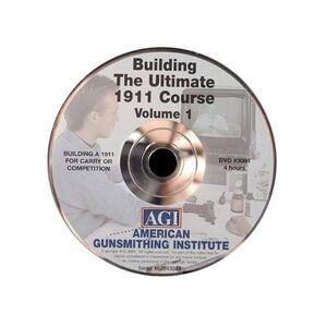 """American Gunsmithing Institute (AGI) """"American Gunsmithing Institute (AGI) Video """"""""The Ultimate 1911"""""""" Volume 1 DVD"""""""