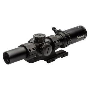 Firefield RapidStrike Rifle Scope Kit 1-6x 24mm Illuminated Red/Green .223 Circle Dot Reticle Matte
