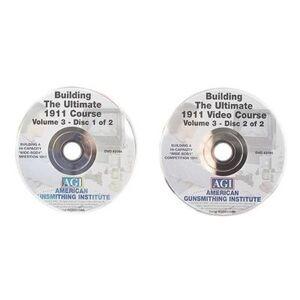 """American Gunsmithing Institute (AGI) """"American Gunsmithing Institute (AGI) Video """"""""The Ultimate 1911"""""""" Volume 3, 2 Volume Set DVD"""""""