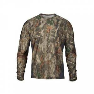 Browning Men's Hell's Canyon Speed Plexus-FM Base Layer Long Sleeve Shirt Polyester/Nylon