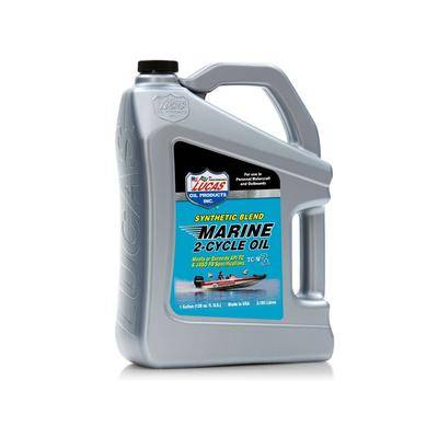 Lucas Oil Synthetic Blend 2-Cycle Marine Oil