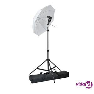 vidaXL Portable Speedlight Set  - Green