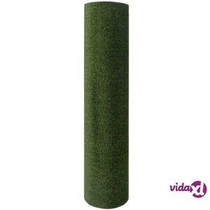 """vidaXL Artificial Grass 1.5x10 yd/0.28""""-0.35"""" Green   - Green"""