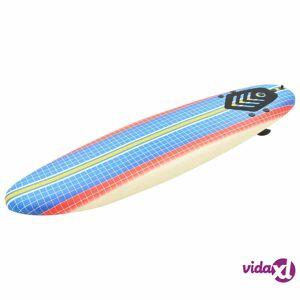 "vidaXL Surfboard 66.9"" Mosaic  - Multicolour"