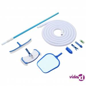vidaXL 9 Piece Pool Maintenance Kit  - Multicolour