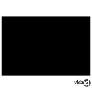 vidaXL Floating Rectangular PE Solar Pool Film 19.8 x 13.1 ft Black  - Black