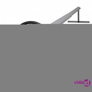 vidaXL Pool Cover Roller with Stainless Steel Base