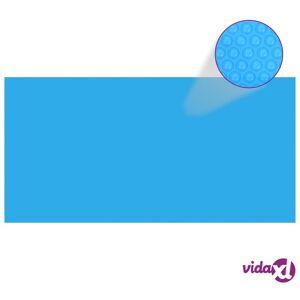 "vidaXL Pool Cover Blue 157.5""x78.7"" PE  - Blue"