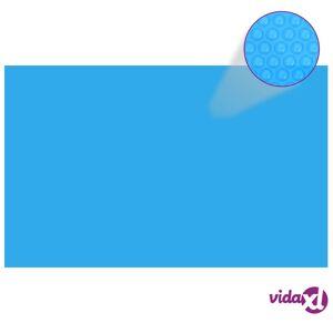 "vidaXL Rectangular Pool Cover 315""x196.9"" PE Blue  - Blue"