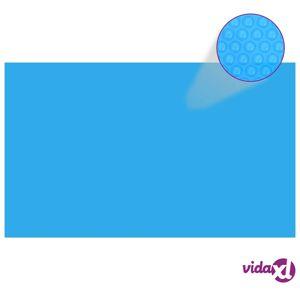 "vidaXL Rectangular Pool Cover 393.7""x236.2"" PE Blue  - Blue"