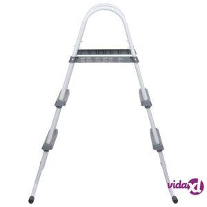 "vidaXL Pool Ladder Steel 34.1""  - Grey"