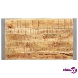 "vidaXL Coffee Table 43.3""x23.6""x15.7"" Solid Wood with Sheesham Finish  - Brown"