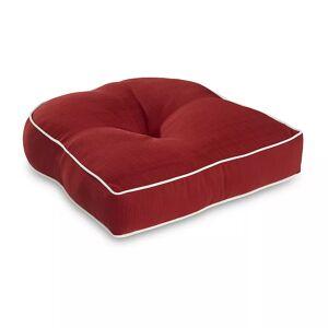 Terrasol Single U Chair Cushion, Red, 19X19