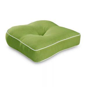 Terrasol Single U Chair Cushion, Green, 19.5X19.5