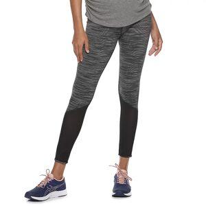 Maternity a:glow Performance Side Pocket Capri Leggings, Women's, Size: Small-Mat, Black