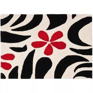 Safavieh Soho Ivory Black Floral Rug, White, 7.5X9.5 Ft