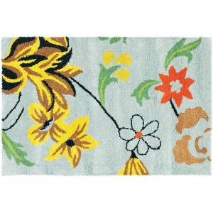 Safavieh Soho Floral Rug, Blue, 6X9 Ft