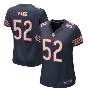 Nike Women's Nike Khalil Mack Navy Chicago Bears Game Jersey, Size: Large, Blue